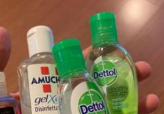 Máy chiết rót gel rửa tay, nước sát khuẩn